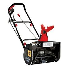 Corded Electric Powered 13.5 Amp Snow Blower Thrower Shovel 18in Wheels Winter