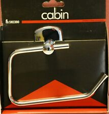Smedbo Cabin Toilettenpapierhalter ohne Deckel CK341 chrom Rollenhalter (2)