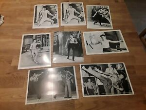 Bruce Lee - 8x Photos from JKD Club (Hong Kong 80`s) - TOP