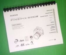 LASER PRINTED Fujifilm S100fs FinePix Camera 182 Page Owners Manual Guide