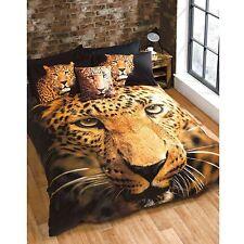 léopard simple Ensemble de couverture & taie d'oreiller couette NEUF