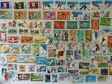 100 Different Mongolia Stamp Collection