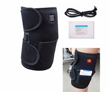 Heated Knee Wrap/ Electric Therapeutic Heating Pad W Rechargable 2600Mah Battery