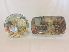 Peter Rabbit wedgewood plate and tray