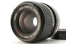 【EXC+5】 CANON FD 35mm F/2 S.S.C. SSC Wide Angle Lens from JAPAN #185