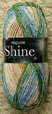 6 X 100g Balls King Cole Shine DK Shade 1888 Tuscany Dyelot 55726