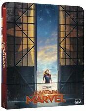 Captain Marvel con Steelbook (Blu-ray 3D, 2019)