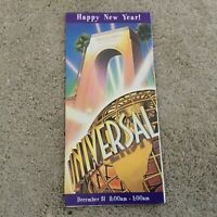 Vintage Universal Studios Florida Holiday Park Brochure 1997 Mint Condition