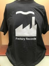 FACTORY RECORDS T SHIRT JOY DIVISION NEW ORDER