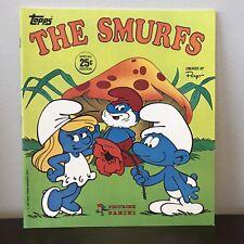 BRAND NEW MINT CONDITION Topps The Smurfs 1982 Panini Sticker Album PEYO SMURF