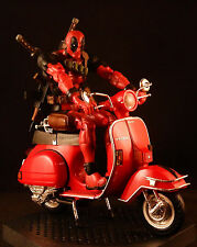 MARVEL LEGENDS VI 6 MOVIE DEADPOOL MEZCO ONE:12 MERCENARY ASSASSIN MOTORCYCLE