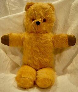 Vintage . Verna Bear . Australia . 45cm . Felt Nose . Glass Eyes