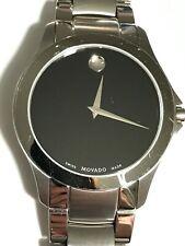 MOVADO Masino Black Dial Stainless Steel Men's Watch Item No. 0607032