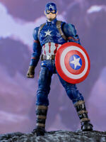 Captain America 7in Action Figure Marvel Avengers Comic Heroes ZD toys Kids Toys