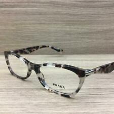 Prada VPR15P Eyeglasses Spotted Brown Havana UAO-1O1 Authentic 53mm