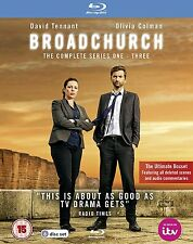 Broadchurch - Complete Series 1+2+3 (Blu-ray Region-Free)~~~David Tennant~~~NEW