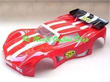 Carrozzeria per 1/8 GT Rally Games Corvette + Adesivi + Alettone (da verniciare)
