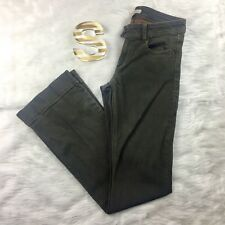 CAbi Womens Jeans Size 2 Flare Bronze Wash Stretch Flap Pockets Cute Nice Cool A
