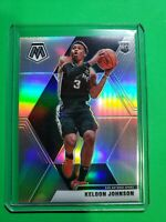 Keldon Johnson 2019-20 Panini Mosaic TRUE Silver Prizm RC Rookie Spurs SSP 🔥