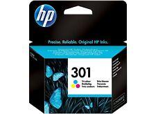 Cartucho Tinta HP 301 Color ORIGINAL Impresoras 1000 2000 3000 1050 2050 3050