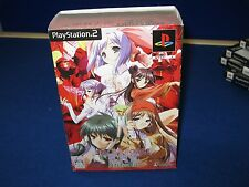 Bardo Force EXE mega box LIMITED EDITION WITH FIGURE PS2 NTSC /JAP RARE