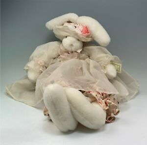 "29"" Tall CHIFFON Bunnies by the Bay Plush Rabbit"