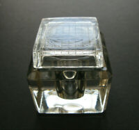 Vintage Art Deco Glass Inkwell