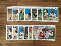 1991 Impel Line Drive Minor League Baseball 16 Card Lot RC Bret Boone, Wakefield