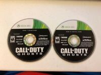 Call of Duty: Ghosts - Microsoft Xbox 360, 2013 - DISC ONLY