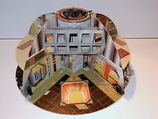 STAR WARS KENNER PLAYSET 1977 CARDBOARD DEATH STAR SET NEAR COMPLETE PALITOY UK