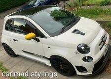 C.M.S Design Bonnet Vent to fit Fiat 500 Abarth Black Plastic/Scoop/Air Intake