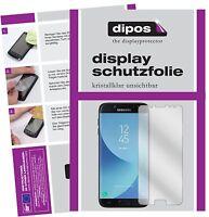 2x Samsung Galaxy J7 Pro Protector de Pantalla protectores transparente dipos