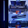 """✅NEW Star Wars Galaxys Edge REY Legacy Lightsaber W/36"""" BLADE and Stand"""