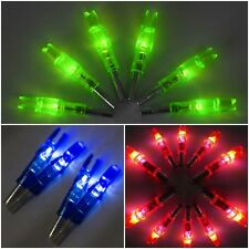 3Pcs Archery LED lighted Arrow Nock for Compound Bow Croosbow Outdoor Hunting