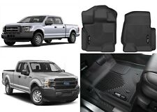Husky Liners 53341 Black Front X-act Contour for Ford F-150 New Free Shipping!