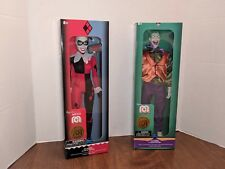 """Target Mego 14"""" lot Joker and Harley Quinn Brand New In Sealed boxes DC Universe"""