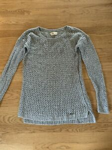 Women's Hollister Gray Sweater Size Large Cute