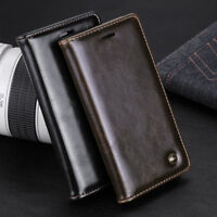 Luxury Leather Flip Card Wallet Phone Case Cover Stand For IPhone XS MAX XR X 8
