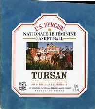 EYRES MONCUBE ETIQUETTE BASKET BALL US EYROISE NATIONALE 1B FEMININE §12/04/17§