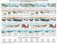 s26889) SWEDEN 1976/77 MNH** Tubercolosis Christmas Sheet God Helg cinderella