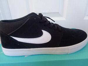 Nike SB Portmore II Solar Mid trainers 923198 011 uk 7.5 eu 40.5 us 8.5 NEW+BOX