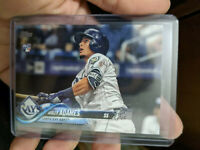 2018 Topps Willy Adames Rookie RC Tampa Bay Rays