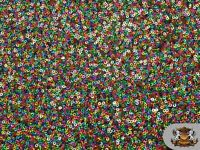 "Sequin Spider Micro Disc RAINBOW Fabric / 52"" Wide / Sold by the yard"