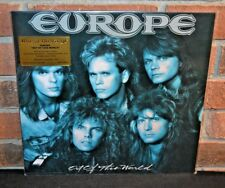 EUROPE - Out Of This World, Ltd 30th Anni 180G TRANS BLUE VINYL Foil #'d NEW!