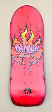 "Black Label Auby Taylor Old School Pig Break Out 10.375"" Skateboard Deck"