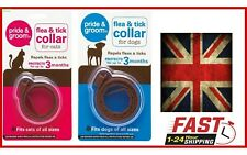 Dog Flea & Tick Collar for Pet Cat Puppy Kitten Lasts Up To 3 Months Stretch on
