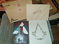 Assassin's Creed Encyclopedia 2.0 Hardback Book + Comic+Litho Desmond Miles File