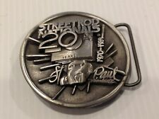 Street rod nationals belt buckle.20 years.st Paul  Minnesota.vintage
