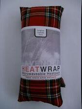 RED TARTAN  Heatpack.   Microwaveable/Freezable. Lavender & Wheat bag