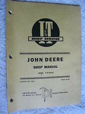I&T John Deere 70 Diesel Tractor Shop Manual